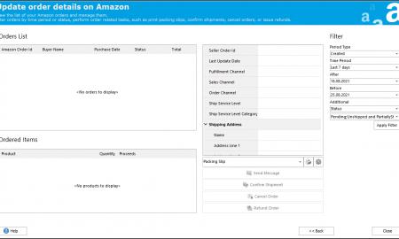 WooCommerce Order Management in Amazon Addon