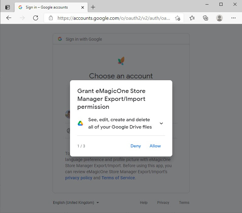 WooCommerce Cloud Import Allow Access
