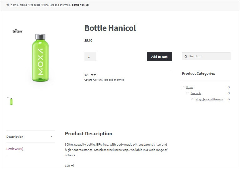 WooCommerce Cloud Imported Product