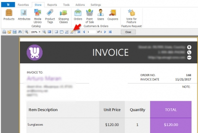 Edit WooCommerce Invoice