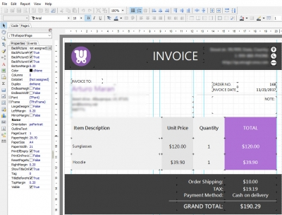 Edit WooCommerce Invoice Layout