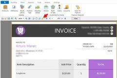 Edit WooCommerce Invoice