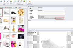 woocommerce images in media library