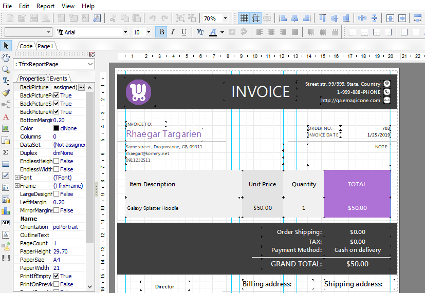 How to Print WooCommerce Invoice