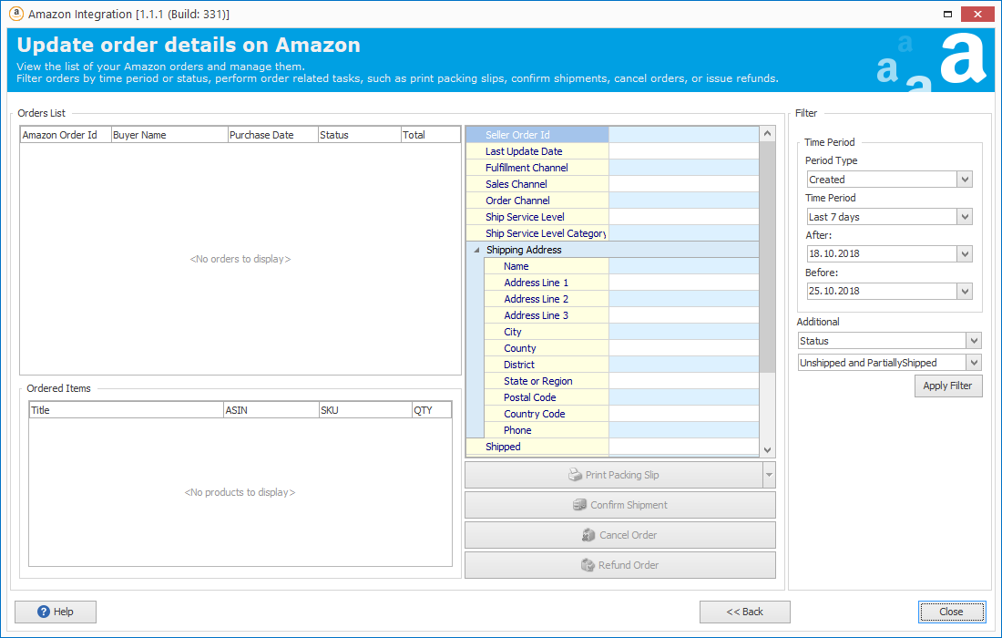Operate Products and Orders with Woocommerce Amazon Integration