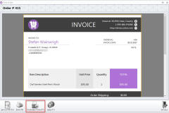 woocommerce order creation after invoice generation