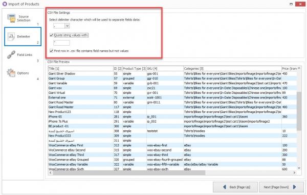 configure-woocommerce-csv-file-parameters