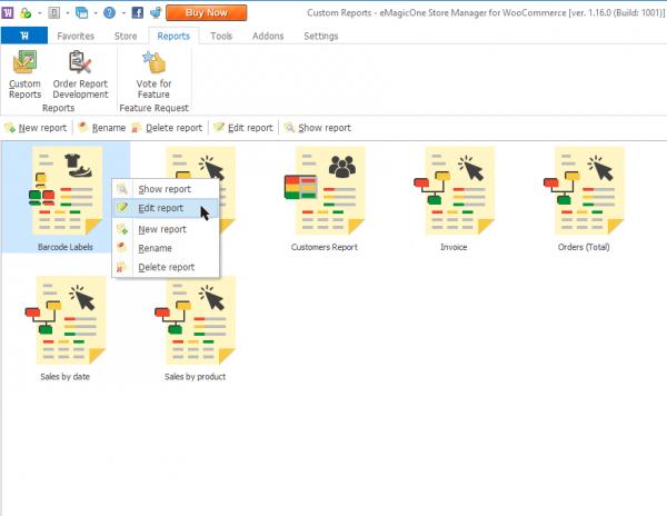 Edit WooCommerce Barcode Labels Report