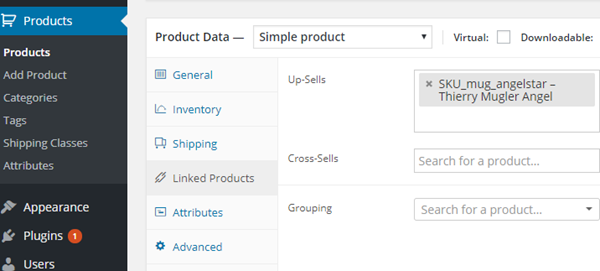 WooCommerce Linked Products